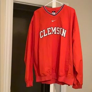 Authentic Nike Clemson Pullover